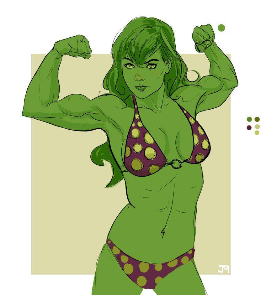 She-hulk by Manji675