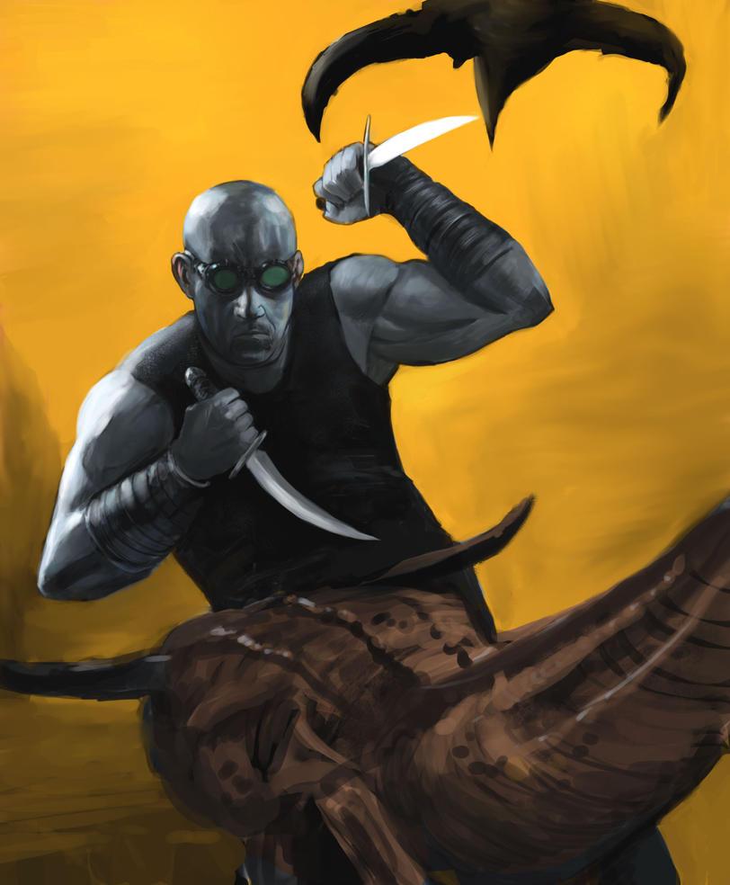 Riddick by Manji675