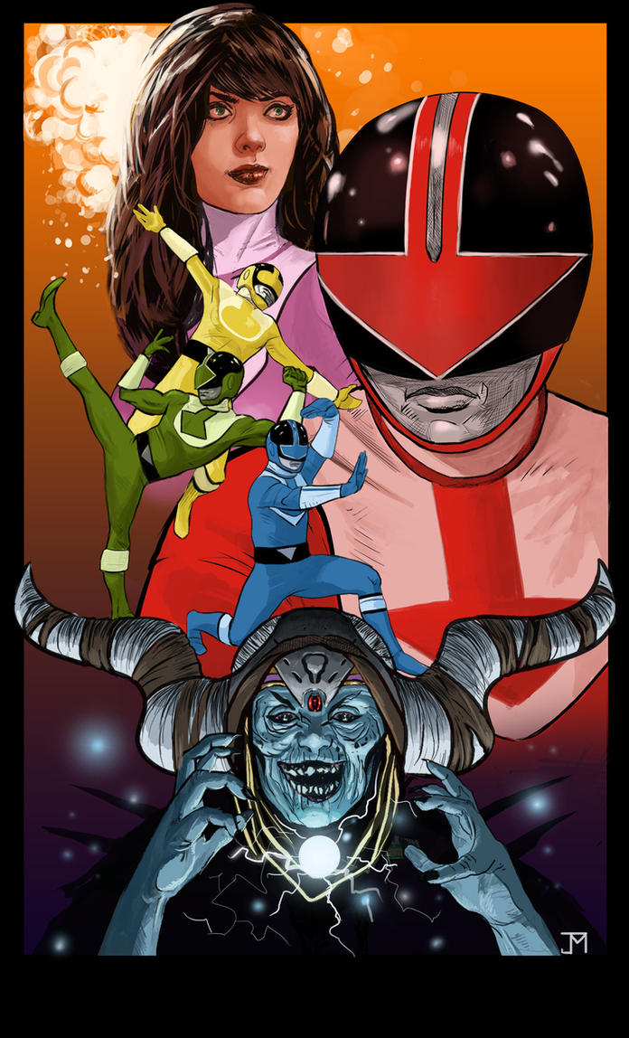 Power Rangers Timeforce by Manji675
