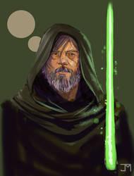 Old Man Skywalker Sketch