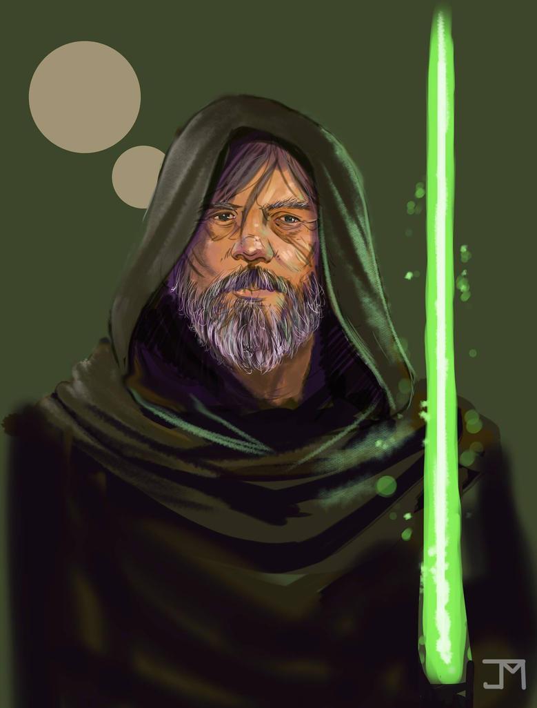 Old Man Skywalker Sketch by Manji675