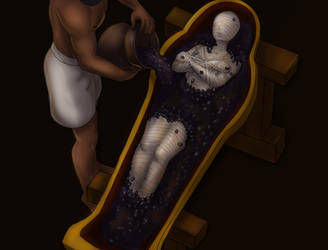 Mummified Alive 5 by Faust11