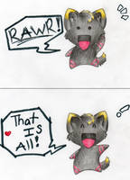 RAWR by withwindonfire
