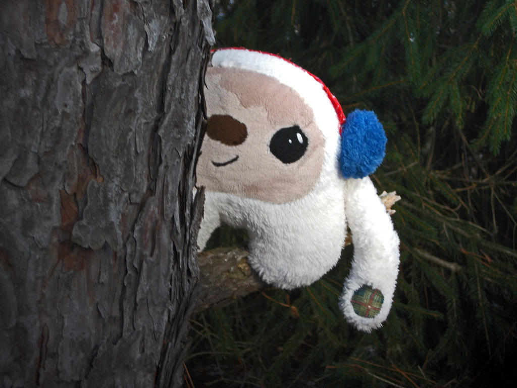 *SOLD* Yeti Plush by Panda-Prune