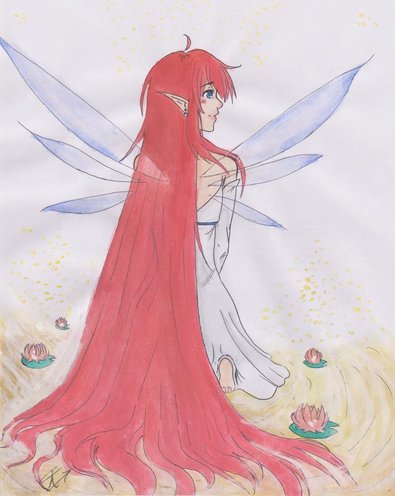 Long Hair by Arklilia