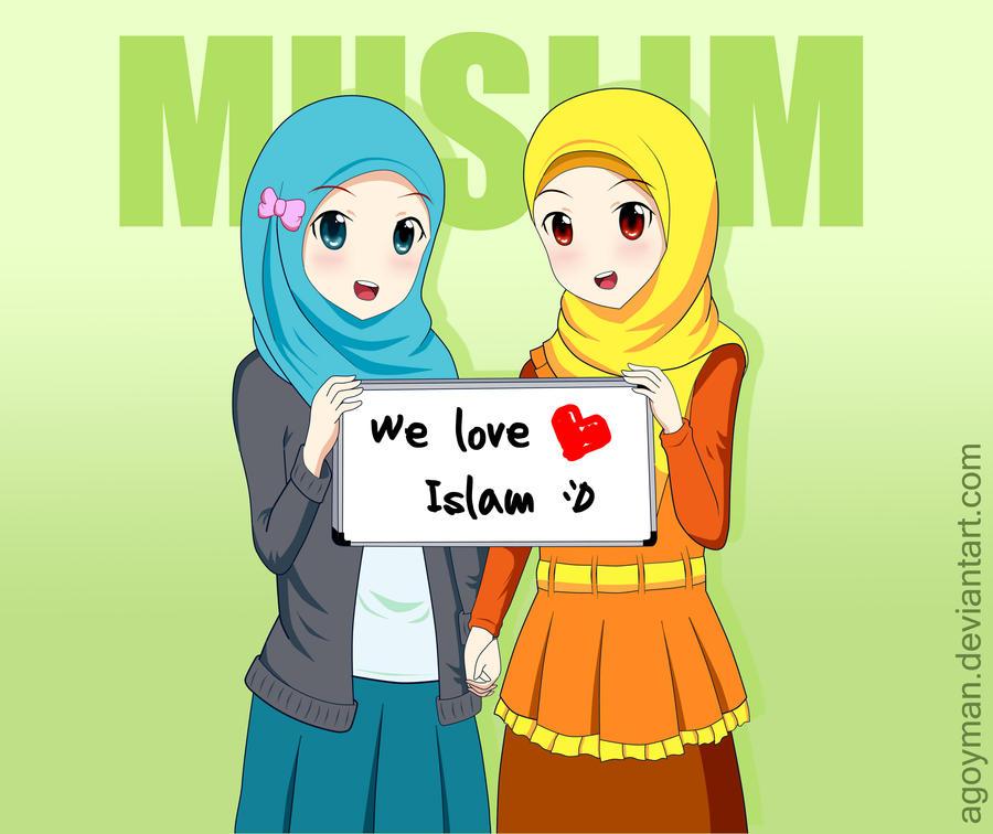 Islam Anime Character