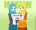 We love Islam! :D