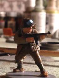 WWII Army Ranger With Thompson Sub-Machine Gun 2
