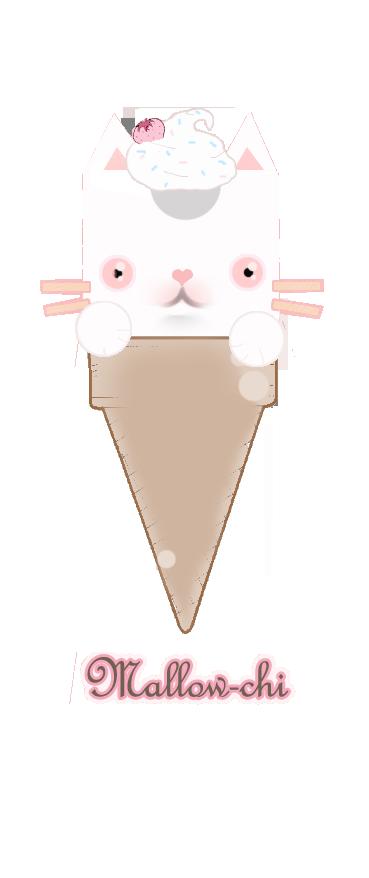 mallowchi ice cream cone by 775