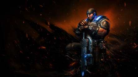 Fenix - Gears of War 3 by PhotoshopIsMyKung-Fu
