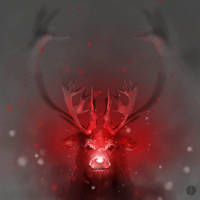 Rudolph by PhotoshopIsMyKung-Fu