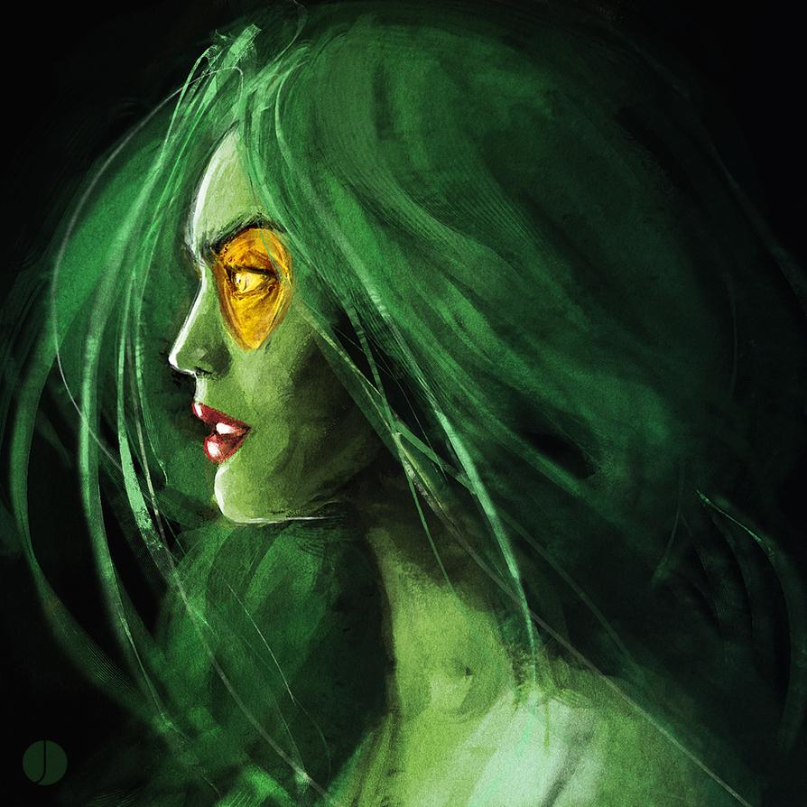 Gamora by PhotoshopIsMyKung-Fu