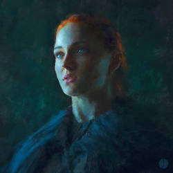 Lady of Winterfell by PhotoshopIsMyKung-Fu
