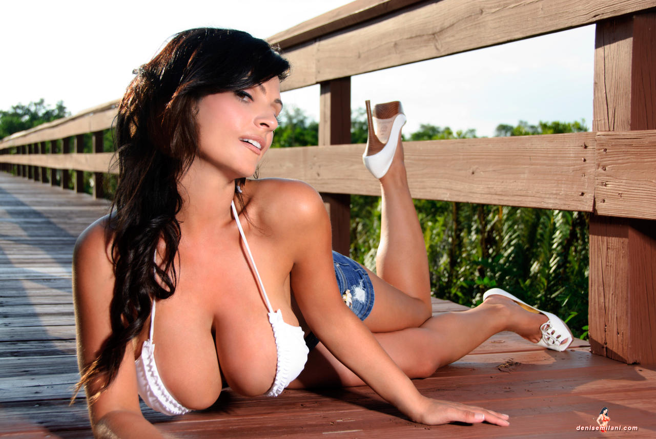 Denise Milani Board Walk 1 by k1ngxx
