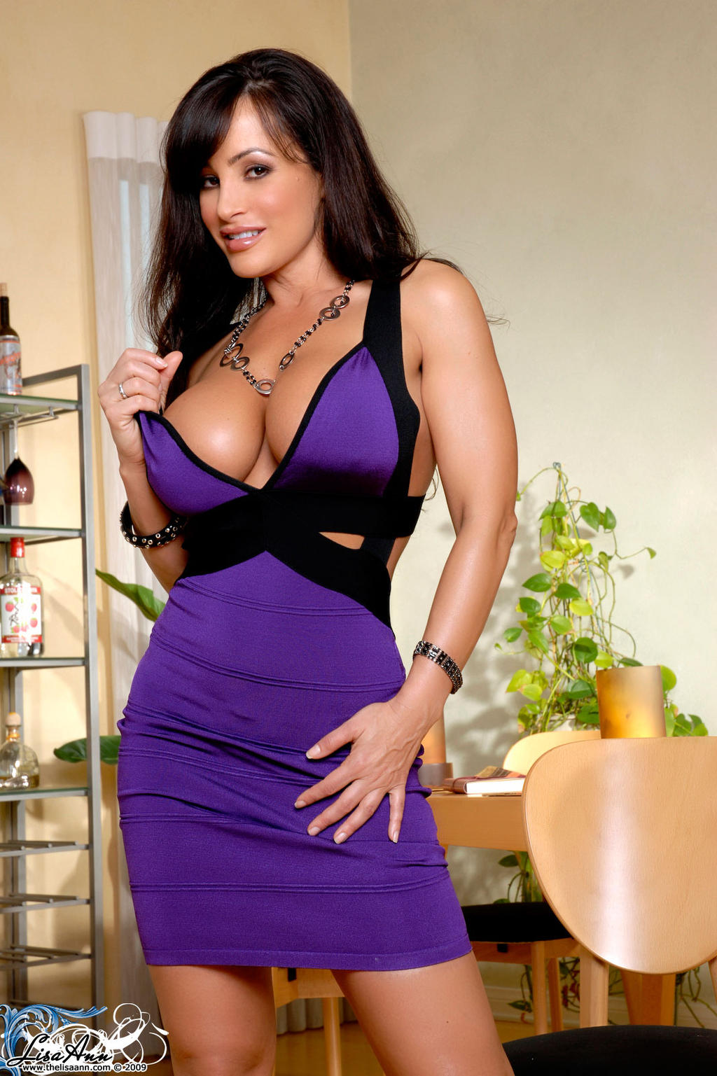 Lisa Ann Purple by k1ngxx