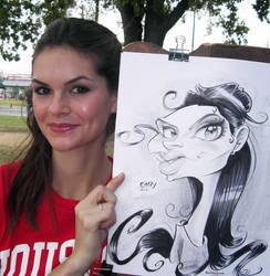 Girl Caricature