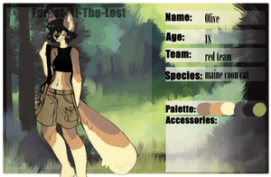 FotL - Olive - Red team fighter by raccoonhearted