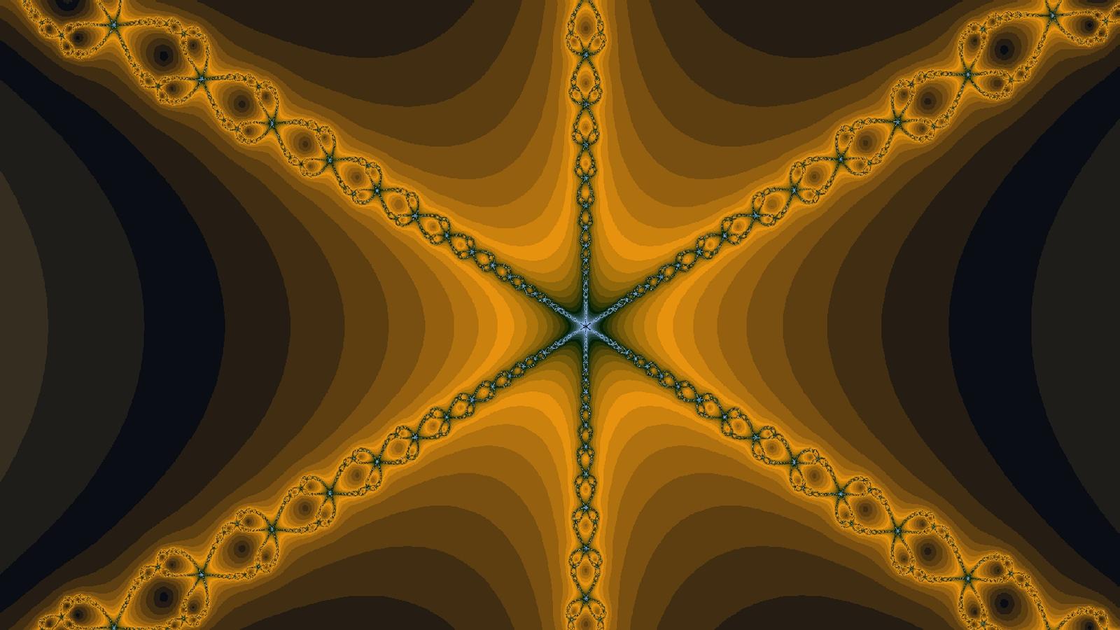 Golden Blue Starness