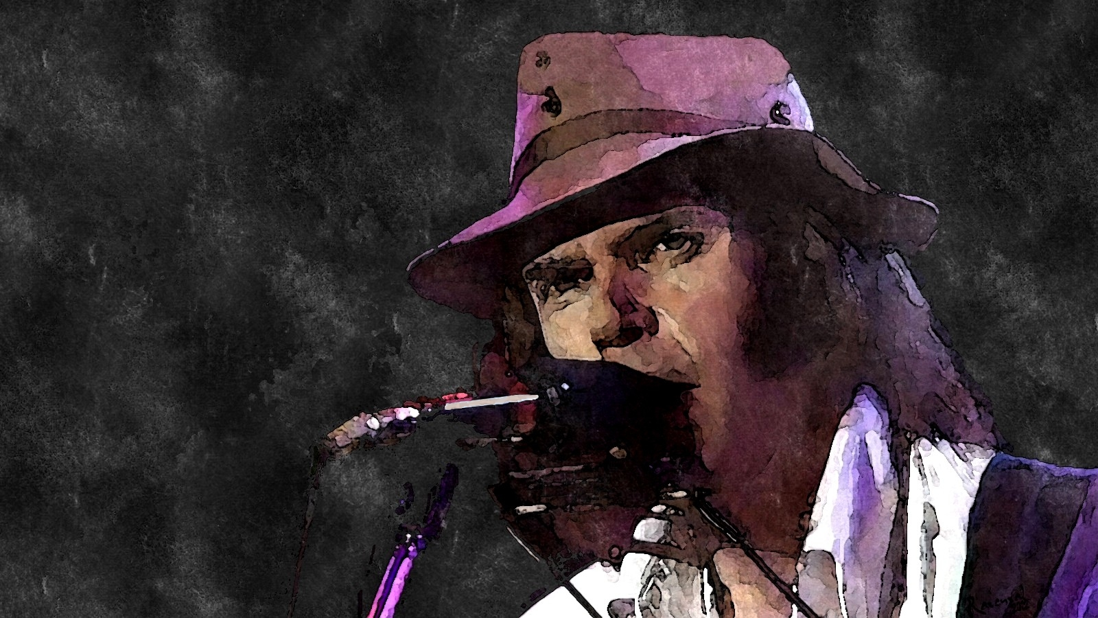 Neil Young by Ravenval