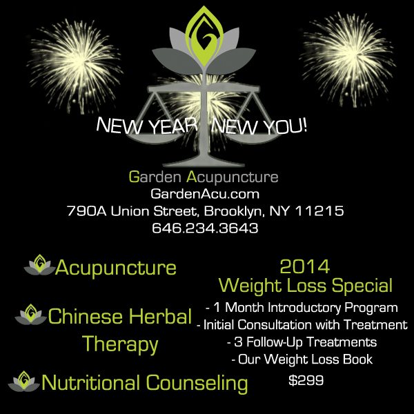 Garden Acupuncture Ad - January 2014