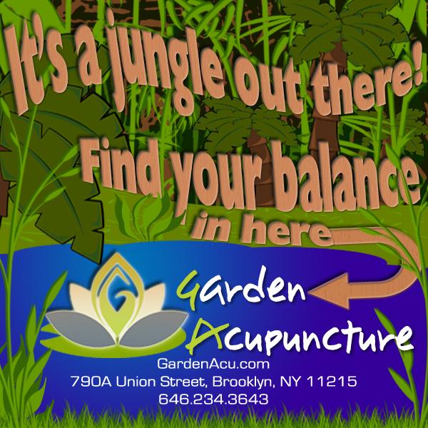 Garden Acupuncture Ad - March 2014