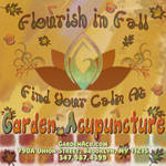 Garden Acupuncture Ad - August 2014 (for autumn)