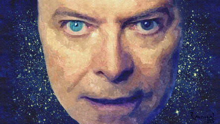David Bowie 2015 by Ravenval