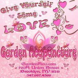 Garden Acupuncture Valentine's Day ad 2015