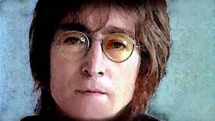 John Lennon by ravenval (2016) by ravenval