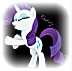 Rarity by ponyboy2012
