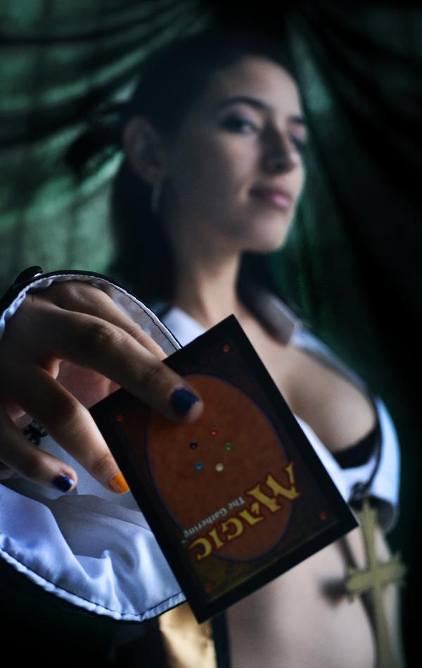 The Magic Girl by Nasstasia