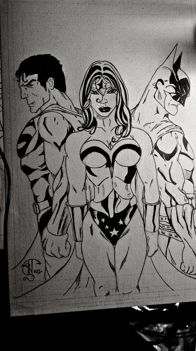 DC Trio by SKETCHH