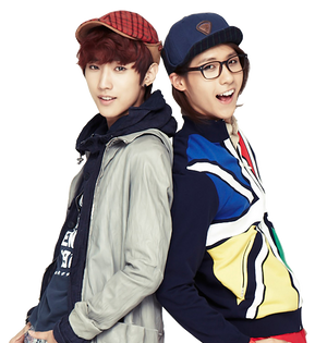 B1A4 Jinyoung and CNU Render