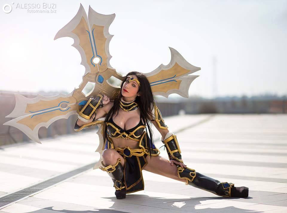 Sivir Cosplay by portgasann