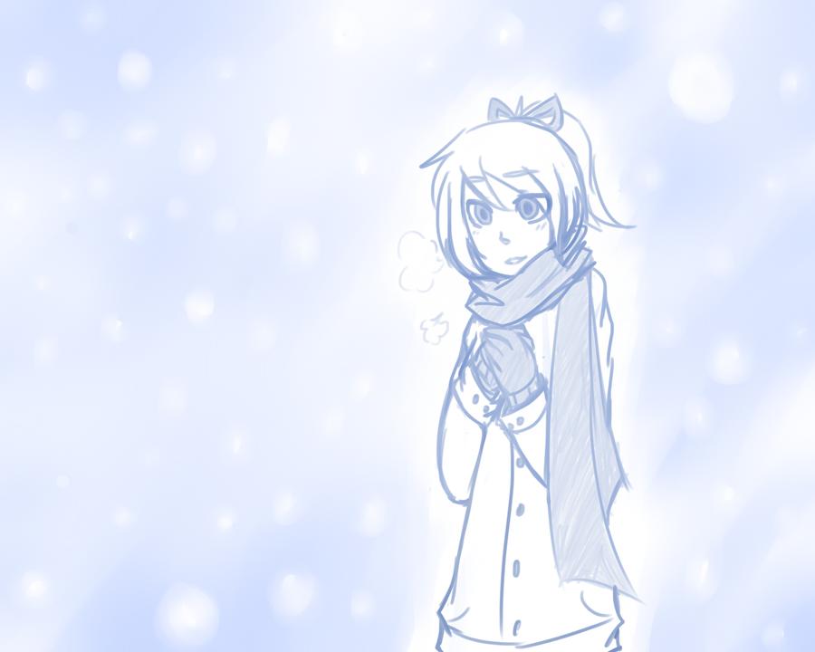 Snow Day by lambun