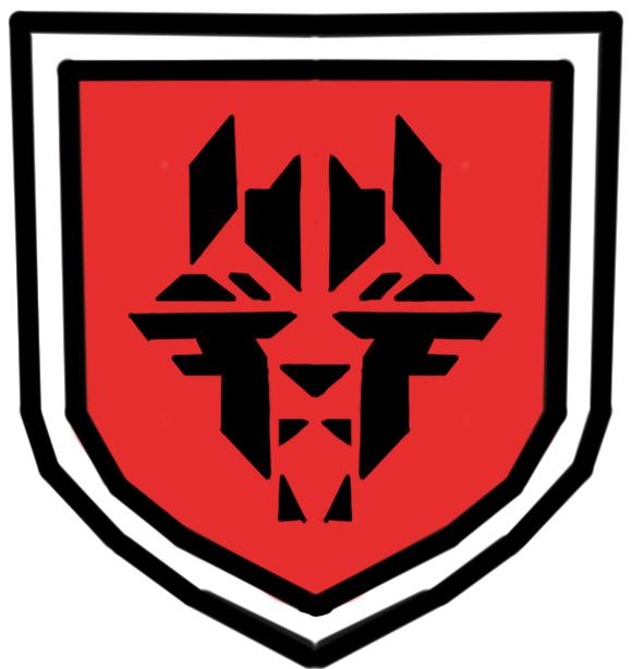 wolfenstein: the new order panzer hund logosteampunkclockwork
