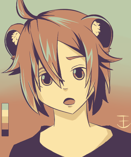 [Palette challenge] #1 by T3NG4
