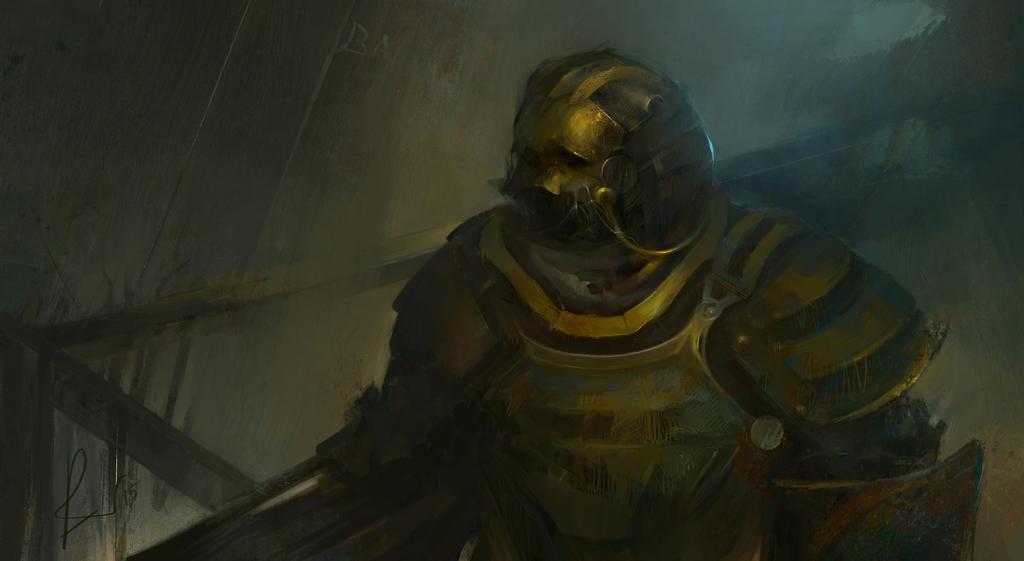 Dust warrior by SunnyJu