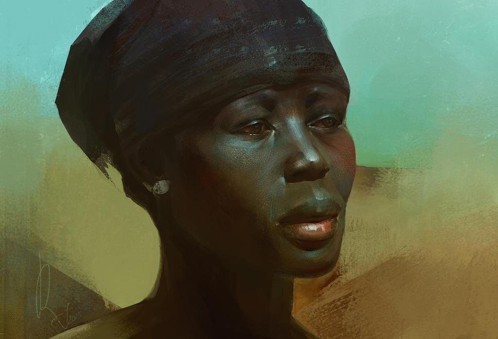 African by SunnyJu