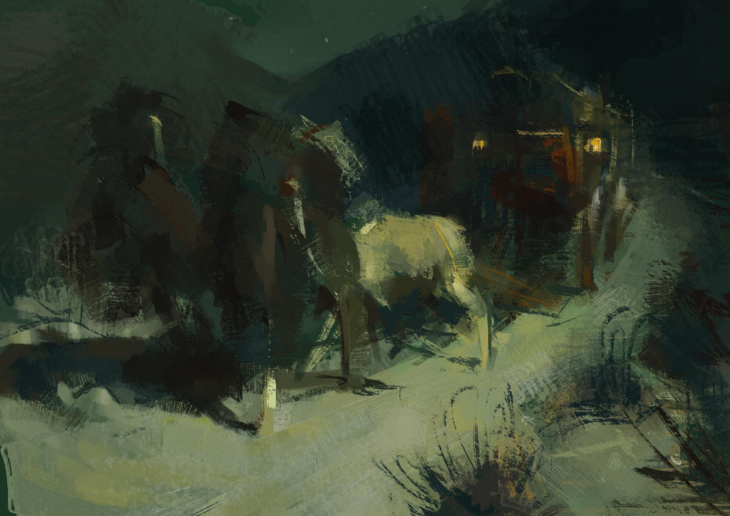 Master study_01_Frederic Remington by SunnyJu
