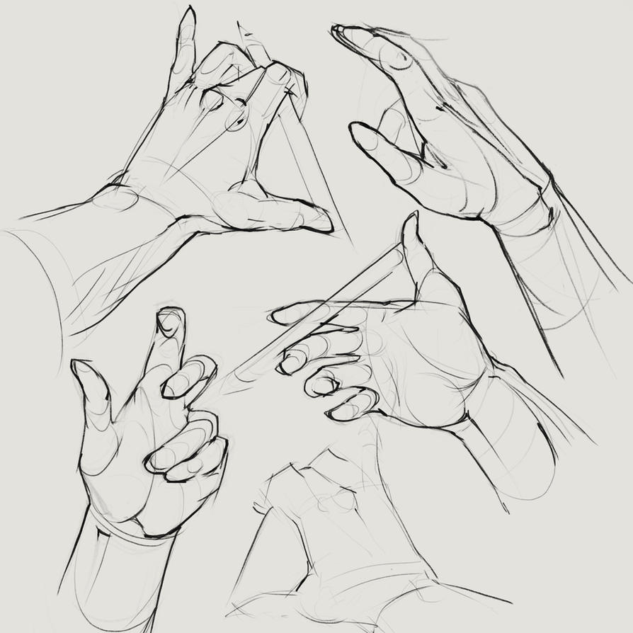Hands drawing 2 by SunnyJu