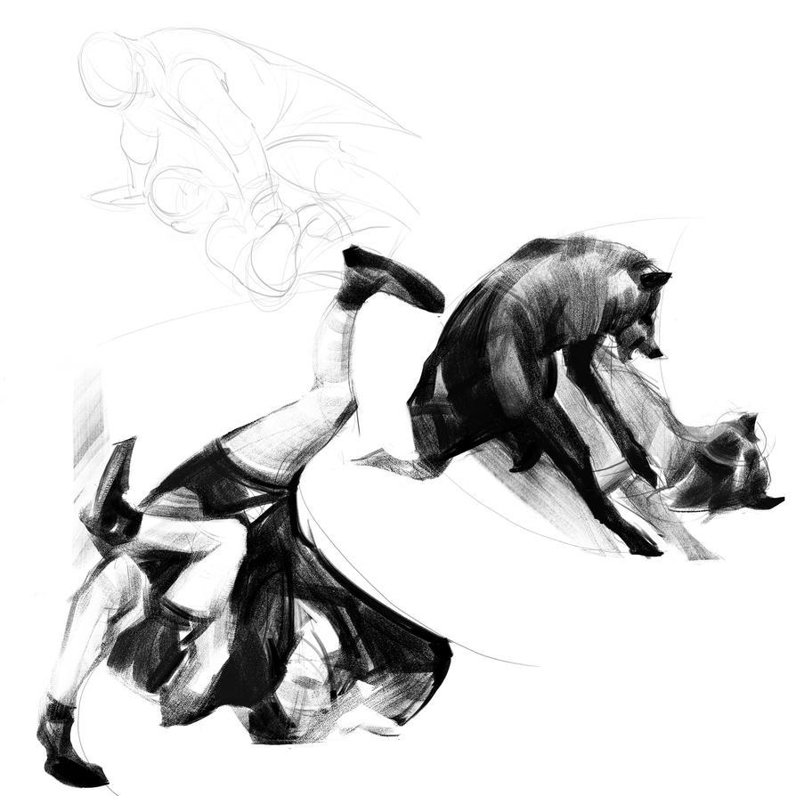 Dynamic sketches 02 by SunnyJu