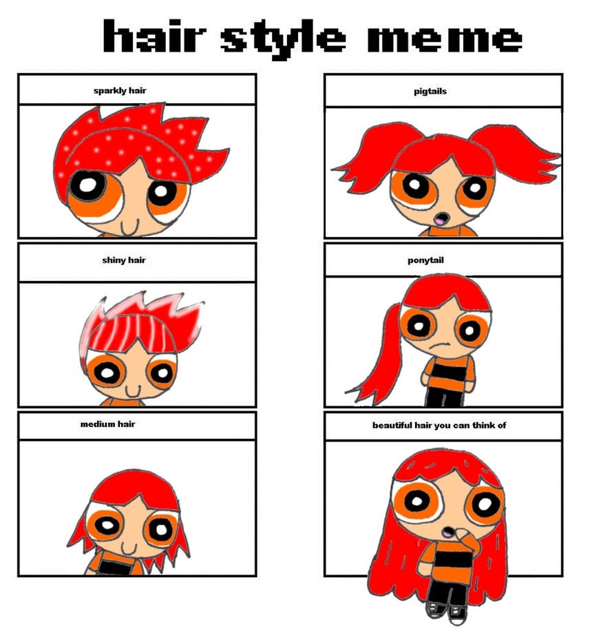 Hair Style Meme By Valbasting by RCBlazer