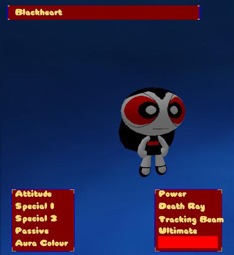 PPZ3 Blackheart (Powerpuff Paragon of Shadow) by RCBlazer