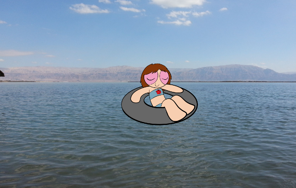 Hannah Around the World: The Dead Sea by RCBlazer
