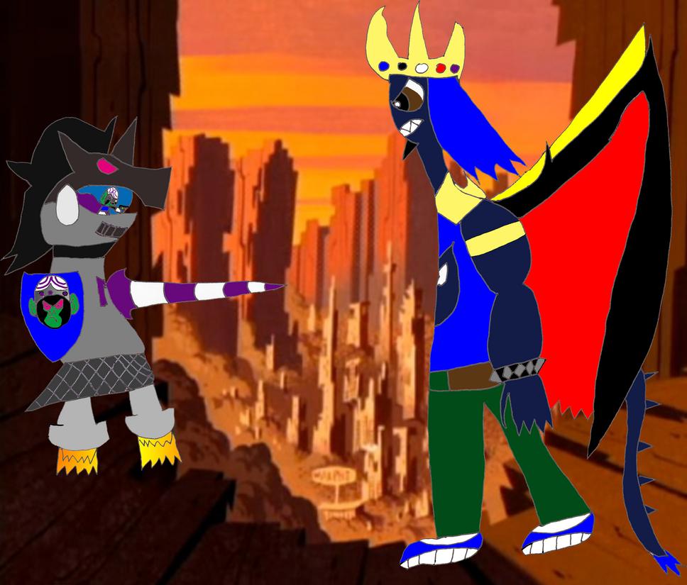 Mojo Jojo vs King Zachary by RCBlazer