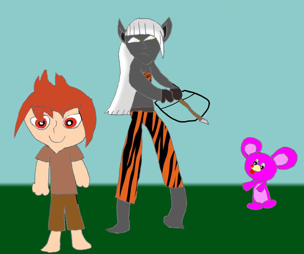 Kasai, Xiro, and Pinky by RCBlazer