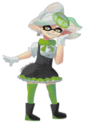 N-pop collab - marie by Chihuahuat0by