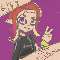 Splatoon- Octo expansion by Chihuahuat0by