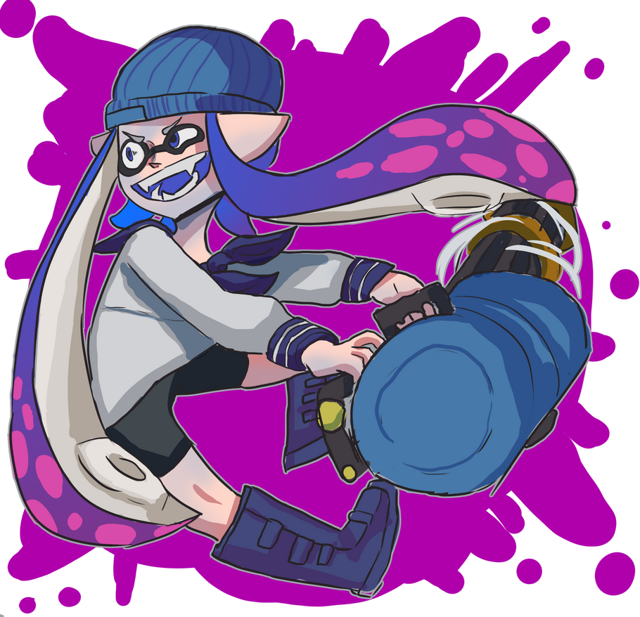 Splatling my bab by Chihuahuat0by